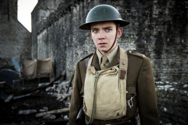 Asa Butterfield in Journey's End.