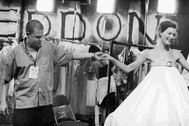 Fashion designer Alexander McQueen in the new documentary about his career.
