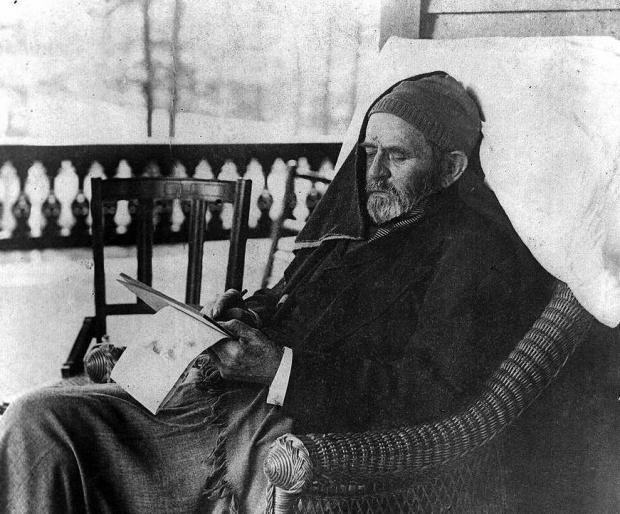 Ulysses S. Grant working on his memoir in 1885, shortly before his death. Historian Ron Chernow's terrific and worthwhile new biography of Grant will last you from the dog days into Indian summer.