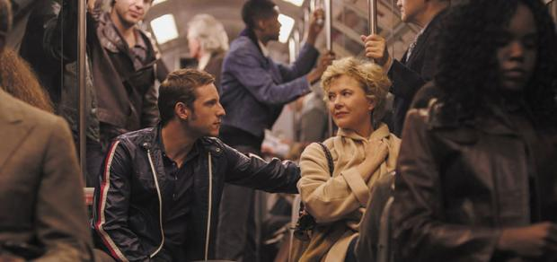 Jamie Bell and Annette Benning in Film Stars Don't Die in Liverpool.