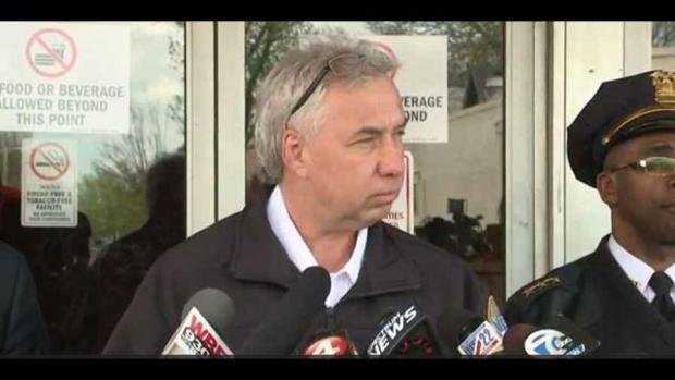 Daniel Derenda, who abruptly retired as Buffalo Police commissioner last week. Image courtesy WGRZ-TV.