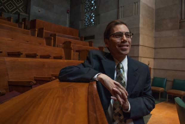 Michael J. LoCurto in Buffalo Common Council Chambers. Photo by Whitney Arlene Crispell.