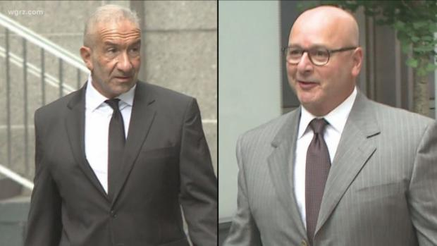 Alain Kaloyeros and Lou Ciminelli. Image courtesy of wgrz.com.