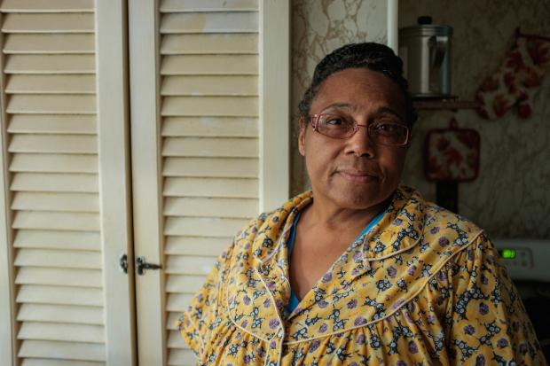 Gloria Adkins filed a discrimination complaint with the city in 2016. It still hasn't been resolved. Photo by Joed Viera.