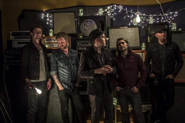 Left to right: Dave Harris, Josh Mullin, Zak Ward, Kevin Samspon, Jeff Schaller. Photo byJosh Mastroianni