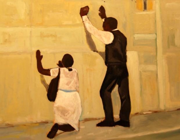 Le Mur by Markenzy Cesar.