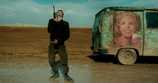 Yonathan Shiray in Foxtrot, opening Friday at Dipson Eastern Hills.