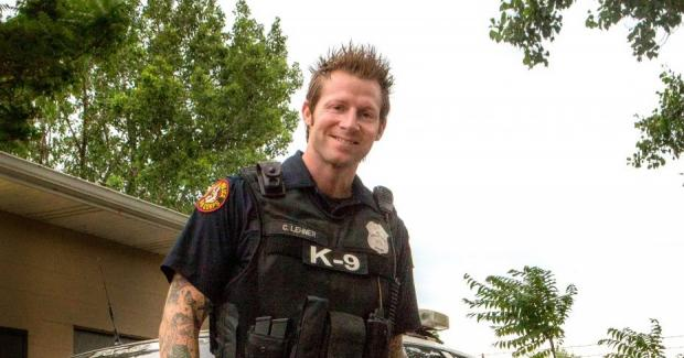Buffalo Police Officer Craig Lehner. Photograph by Shannon Davis.