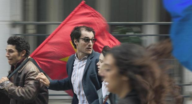 Louis Garrel in Godard Mon Amour.