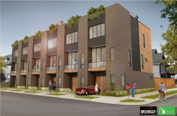 This proposed development for the corner of Jersey and 14th streets has gone back to the drawing board, thanks to nieghborhood activism. And kudos to that.