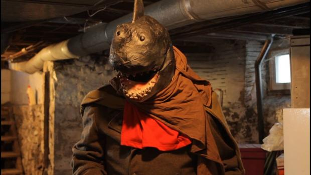 The campy Post Apocalyptic Commando Shark will have its world premiere Friday night at Buffalo Dreams.