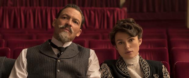 Dominic West and Keira Knightley in Colette.