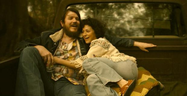 Ben Dickey and Alia Shawkat in Blaze.