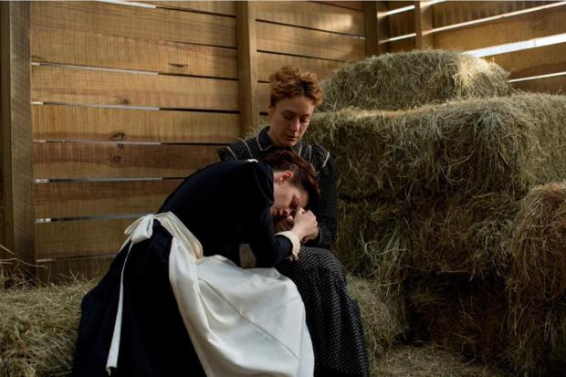 Kristen Stewart and Chloë Sevigny in Lizzie.