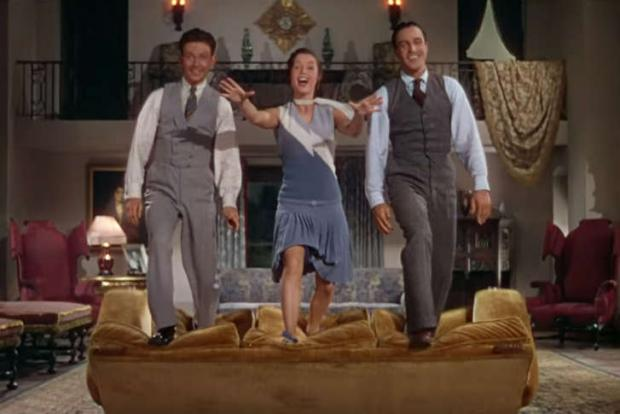 Dancin' on the sofa and Singin' in the Rain, this weekend at the Screenin' Room.