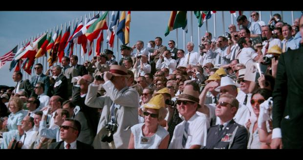 Fifth years ago, crowds await the launch of Apollo 11.
