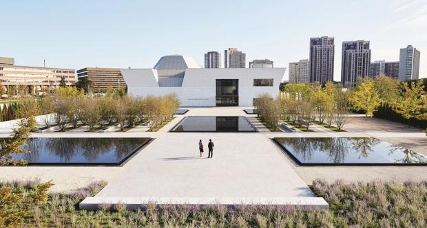 The Aga Khan Museum in eastern Toronto, home to art and artifacts culled from the collection of the spiritual leader of the world's Ismaili sect of Shi'a Muslims.