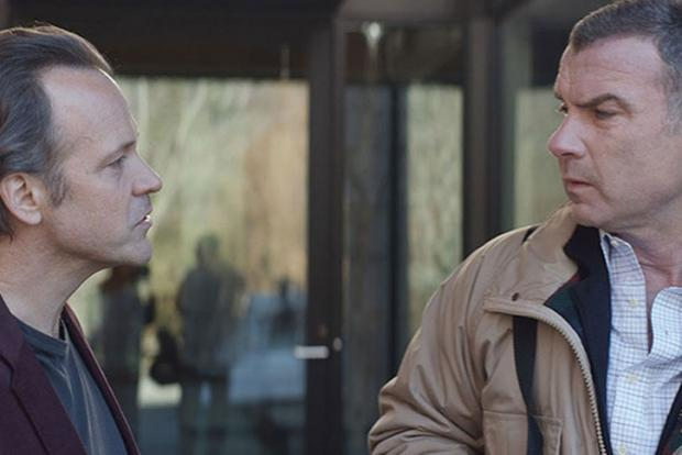 Peter Sarsgaard and Liev Schreiber in Human Capital.