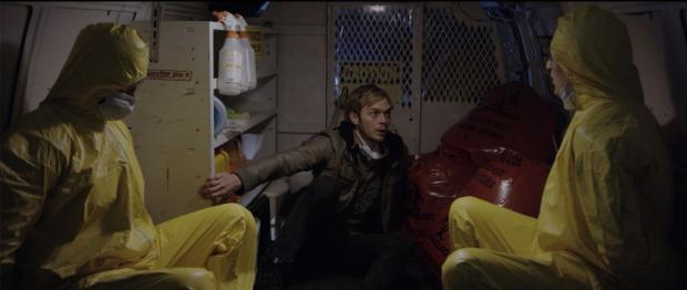 Kyle Despiegler (center) in Night Sweats.